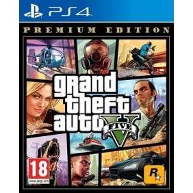 GTA V POUR PS4 CD