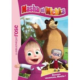 MASHA ET MICHKA - T06 - MASHA ET MICHKA 06 - BONNES VACANCES, MASHA !