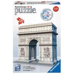 PUZZLE 3D ARC DE TRIOMPHE 216 PIECES - AGE 10-99 ANS