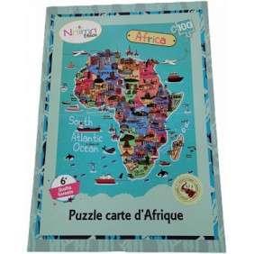 PUZZLE : CARTE D'AFRIQUE NAIMADOLLS