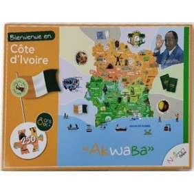 PUZZLE : BIENVENUE EN COTE D'IVOIRE NAIMADOLLS