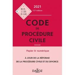 CODE PROCEDURE CIVILE 2021 ANNOTE CAMPUS