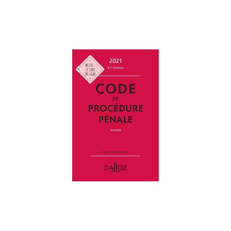 CODE PROCEDURE PENAL 2021 ANNOTE CAMPUS