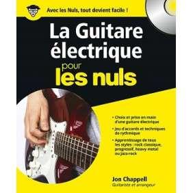 LA GUITARE ELECTRIQUE POUR LES NULS + CD OFFERT
