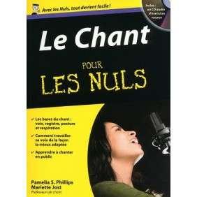 LE CHANT POCHE POUR LES NULS + 1 CD AUDIO