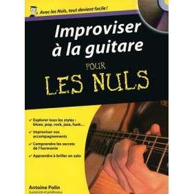 IMPROVISER A LA GUITARE POUR LES NULS - POCHE
