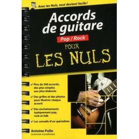 ACCORDS DE GUITARE POP-ROCK POUR LES NULS - POCHE