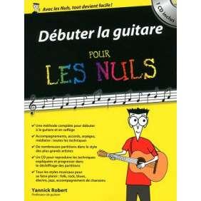 DEBUTER LA GUITARE POUR LES NULS