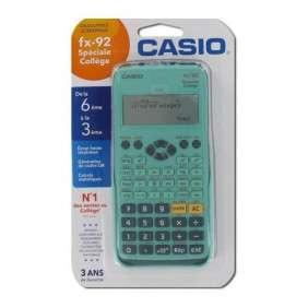 CASIO FX-92 + CALCULATRICE SCIENTIFIQUE +SPECIAL COLLEGE