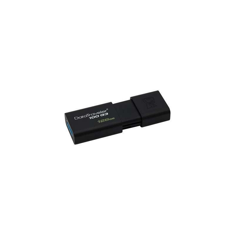 CLE USB KINGSTON DATA TRAVELER 100 G3 128 Go