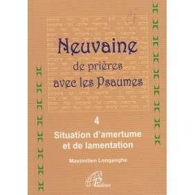 NEUVAINES DE PRIÈRES AVEC LES PSAUMES N°4. 3È ÉD.