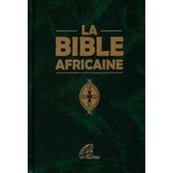 LA BIBLE AFRICAINE MOYEN FORMAT