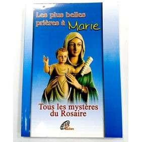 LES PLUS BELLES PRIERES A MARIE