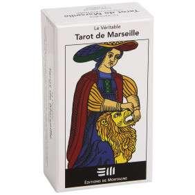 LE VERITABLE TAROT DE MARSEILLE - LE JEU