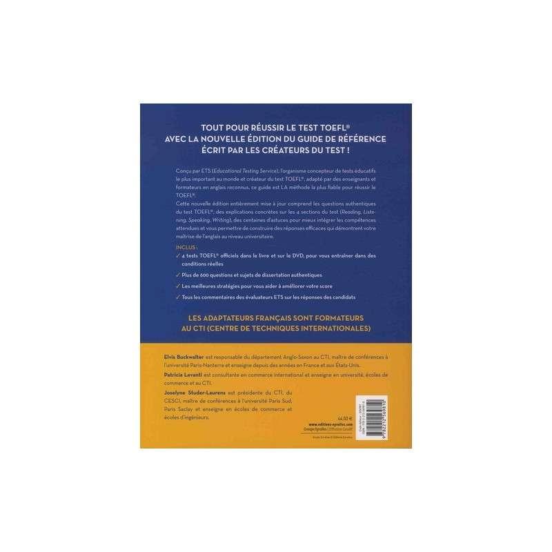 Le guide officiel du test TOEFL