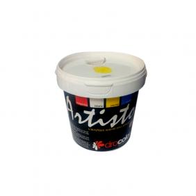Acrylique peinture jaune 1 kilo