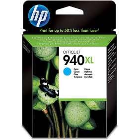 HP 940XL cyan cartouche d'encre grande capacité authentique - C4907AE