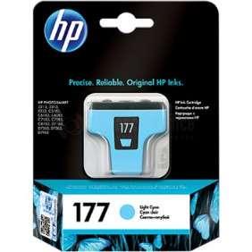 HP - Cartouche D'encre Cyan Clair N° 177 - C8774HE