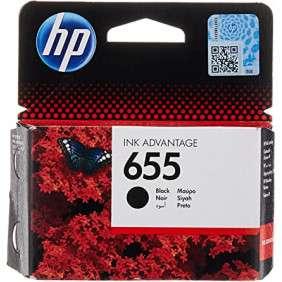 HP 655 Cartouche d'Encre Noire Authentique (CZ109AE)