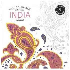 Mini Coloriage Antistress «India»