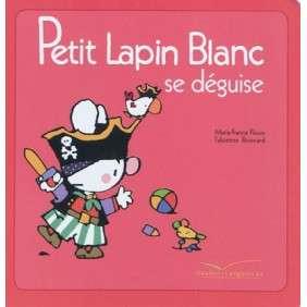 PETIT LAPIN BLANC SE DEGUISE