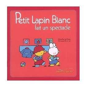 PETIT LAPIN BANC FAIT UN SPECTACLE