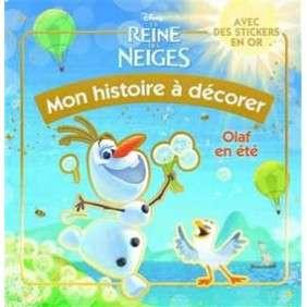 OLAF,MON HISTOIRE A DECORER