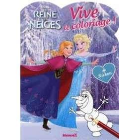 DISNEY LA REINE DES NEIGES - VIVE LE COLORIAGE !