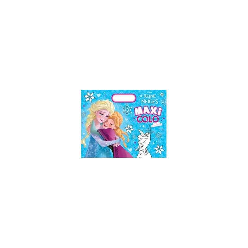 La Reine des neiges - Maxi colo avec des stickers