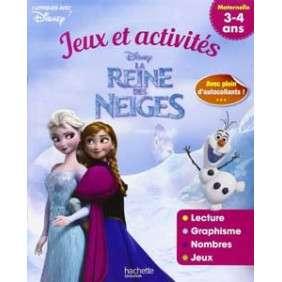 La reine des neiges : jeux et activités : maternelle 3-4 ans