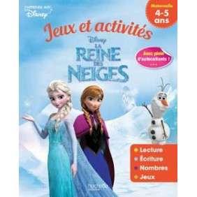 Jeux et activités La Reine des Neiges - Avec plein d'autocollants