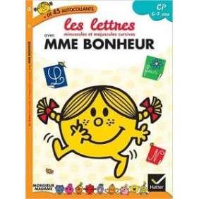 MADAME BONHEUR - CP - LES LETTRES MINUSCULES ET MAJUSCULES CURSIVES